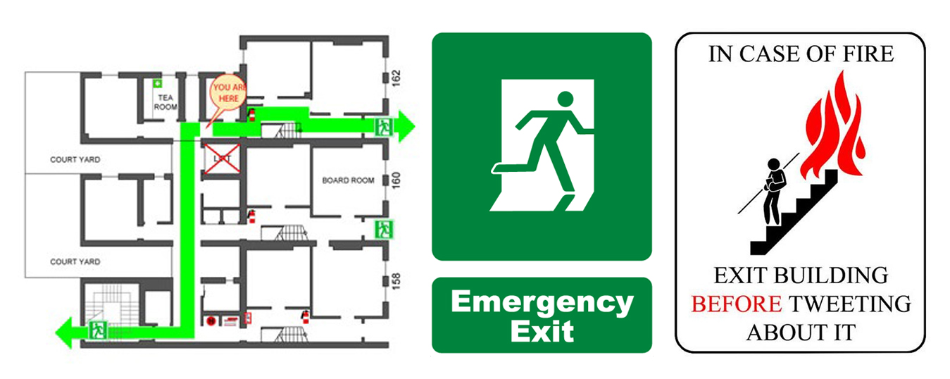 Fire Safety And Evacuation Plans Fire Escape Plan Din Llp